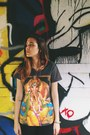 Black-suede-tuk-shoes-black-old-navy-leggings-carrot-orange-ganesha-t-shirt