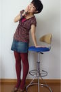 Shoes-brown-max-co-top-gap-skirt-