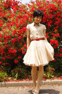 Beige-banana-republic-blouse-red-belt-eggshell-tutu-tomorrowland-skirt