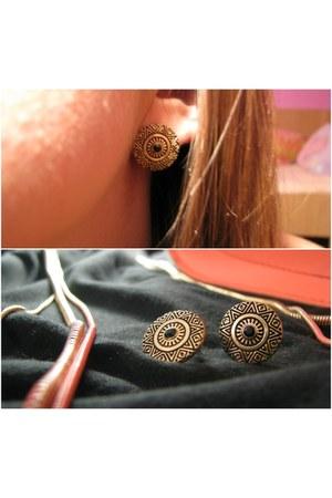 necklace - earrings