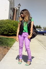 Black-leather-vest-forever-21-vest-light-purple-forever-21-jeans