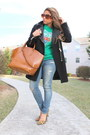Zara-coat-ae-jeans-tiger-kenzo-sweatshirt