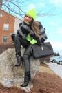Black-aldo-boots-black-faux-fur-coat-asos-coat