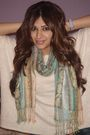 Beige-forever-21-top-green-h-m-scarf-brown-nine-west-boots-brown-h-m-purse
