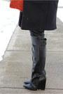 Black-zara-coat-black-ae-hat-black-ae-scarf-purple-lancelot-knight-bag
