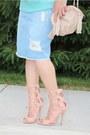 Light-blue-zara-skirt-light-pink-shopakira-sweater-light-pink-urbanog-heels