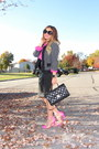 Hot-pink-forever-21-shirt-black-forever-21-jacket-black-chanel-bag