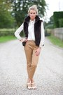 Fur-gillet-jacket-missguided-shirt-chinos-zara-pants