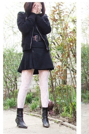 Terranova jacket - Mango skirt - unknown brand blouse - cinemadonna belt - unkno