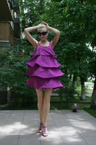 purple H&M dress