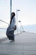 dress - Sportsgirl bag - light grey cardigan