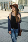 Black-shellys-london-boots-navy-boyfriend-jeans-new-look-jeans
