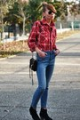 Black-dicker-isabel-marant-boots-blue-high-waisted-madewell-jeans