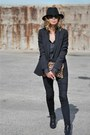 Black-r13-jeans-black-urban-outfitters-hat-black-madewell-blazer