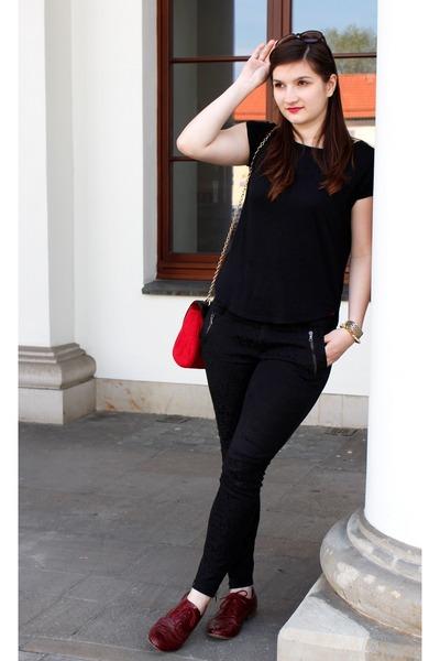 Mohito bag - Zara pants