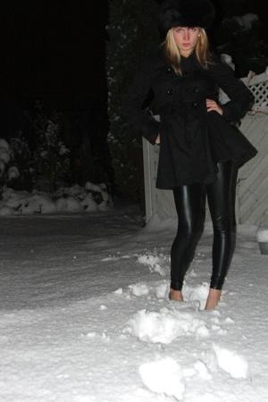 hat - jacket - leggings - shoes