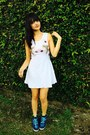 White-lycra-hada-de-sol-dress