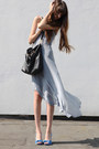 Light-blue-haider-ackermann-dress-black-zara-blazer-black-prada-bag-blue-z