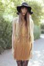 Bronze-aqua-dress-black-wolford-tights