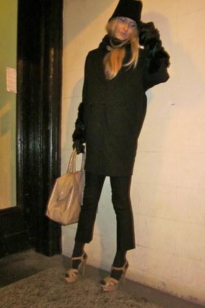 YSL hat - YSL bag - YSL sandals