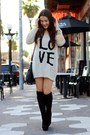 Black-suede-platform-gojane-boots-beige-over-sized-love-winsdor-store-sweater