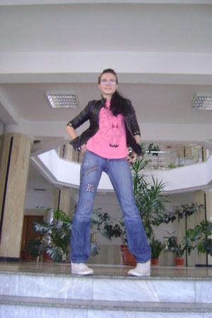 blue jeans D&G jeans