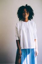 Zara skirt - COS shirt