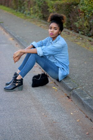 Urban Outfitters boots - Missguided jeans - asoscom shirt