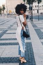 Boohoo jeans - Celine bag - Chanel pumps - asos top