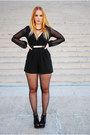 Black-ax-paris-bodysuit-black-jeffrey-campbell-heels-black-zara-necklace