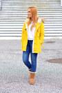Brown-ugg-boots-yellow-blackfive-coat-navy-zara-jeans-white-mango-sweater