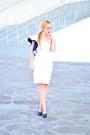 White-sammydress-dress-gray-carolee-earrings
