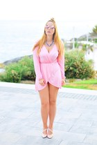 pink optical h dior sunglasses - bubble gum Newchic dress