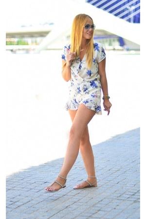 sky blue Porsche Design sunglasses - light blue YRB Fashion romper
