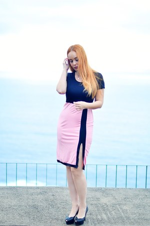 bubble gum Fashionmia dress