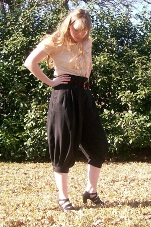 forever 21 pants - delias shirt - Texas Thrift belt - Goodwill shoes