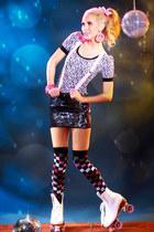 leggings - AmiClubWear shirt - Pink Basis earrings - hair accessory