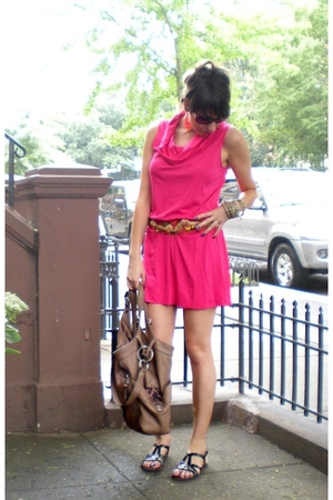 Express dress - vintage store in Kalamazoo MI belt - Old Navy shoes - forever 21