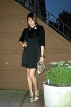 Express dress - H&M blazer - antique store purse - BCBGgirls shoes - forever 21