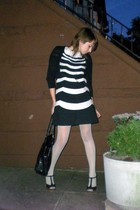 Gap sweater - matty m dress - Express stockings - Colin Stuart shoes