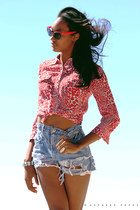 Love Charlie J blouse - Love Charlie J shorts