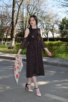c&a dress - BonPrix heels