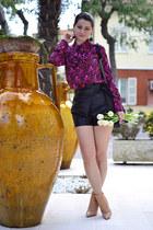 hot pink Miu Miu blouse
