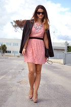 salmon Glamorous dress