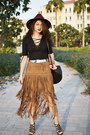 Suede-sheinsidecom-skirt