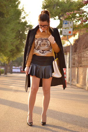 BaBassu sweater - Sheinside skirt