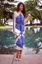 blue Sheinsidecom dress