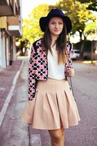 Front Row Shop skirt - joseph shoes - Sheinside jacket - Zara blouse