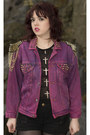 Hot-pink-levis-jacket