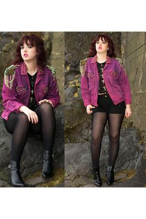 hot pink Levis jacket